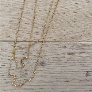 Madewell Gold Necklace Set